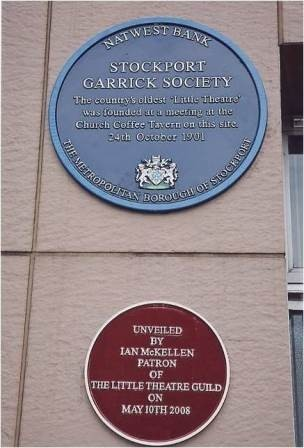 two plaques